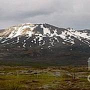 Icelandic Landscaope Poster