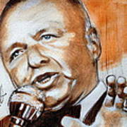 Icon Frank Sinatra Poster