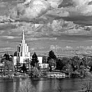 Idaho Falls Temple Poster