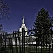 Idaho Falls Temple Series 4 Poster