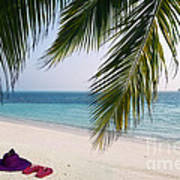 Idyllic Beach Just Waiting For You Poster