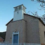Iglesia De Jaun Batista Lincoln City New Mexico Poster