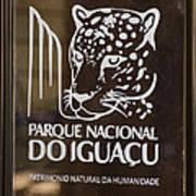 Iguacu National Park - Brazil Poster