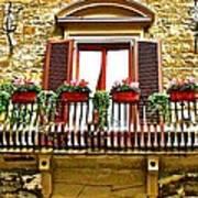 Il Balcone Di Firenze Poster