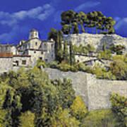 Il Villaggio In Blu Poster