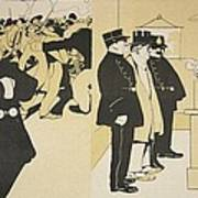Illustration From Lassiette Au Beurre Poster