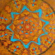 Illustrious Hue Mandala Poster