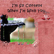 I'm So Content Poster