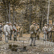 Images Of The Civil War Confederate Soldiers Poster