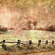 Imaginary Morning On The Blue Ridge II Poster