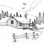 Imagination 1993 - Mountain Cabin Poster
