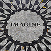 Imagine A World Of Peace Poster