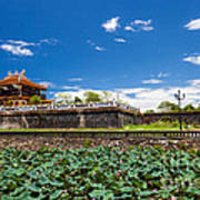 Imperial City Hue Vietnam Poster