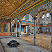 Imperial Hall Of Harem In Topkapi Palace Poster by Ayhan Altun