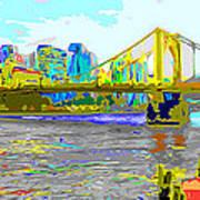 Impressionist Clemente Bridge 2 Poster