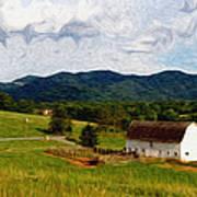 Impressionist Farming Poster