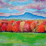 Impressionist New Jersey Autumn Poster
