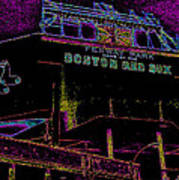 Impressionistic Fenway Park Poster by Gary Cain