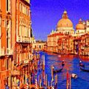 Impressionistic Photo Paint Gs 014 Poster