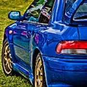 Impreza 22b Poster by Phil 'motography' Clark