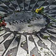 In Memory Of John Lennon - Imagine Poster