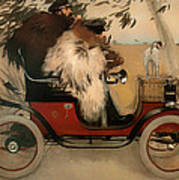 In The Automobile Poster