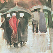 In The Rain, 1882 Poster