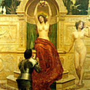 In The Venusberg Tannhauser Poster