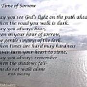 In Time Of Sorrow Poster