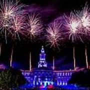Independence Eve In Denver Colorado Poster