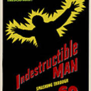 Indestructible Birthday Card Poster