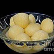 Indian Dessert - Rasgulla Poster