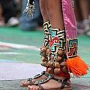 Indian Feet Poster