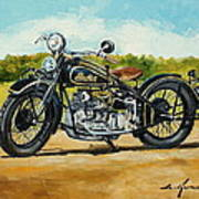 Indian Four 1933 Poster