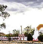 Indian Market Poster