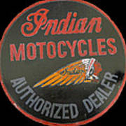 Indian Motocycle Dealer Poster