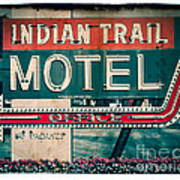 Indian Trail Motel Poster