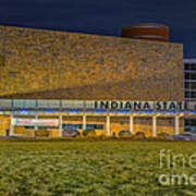 Indiana State Museum Night Delta Poster
