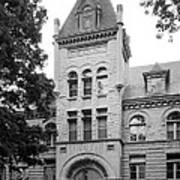 Indiana University Kirkwood Hall Poster