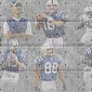 Indianapolis Colts Legends Poster