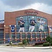 Indianapolis Colts Lucas Oil Stadium Poster