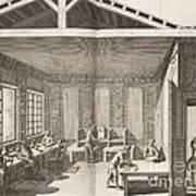 Indigo Dye Factory, 18th Century Poster