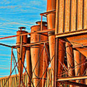 Industrial Detail Photoart Poster