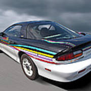 Indy 500 Pace Car 1993 - Camaro Z28 Poster by Gill Billington
