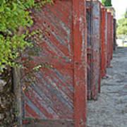 Infinite Red Doors Poster