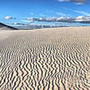 Infinite Sand Patterns Poster