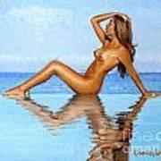 Infinity Pool Nude Poster