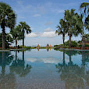 Infinity Pool Of Aureum Palace Hotel Poster