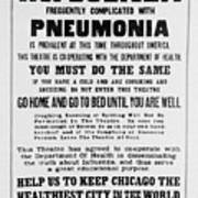 Influenza Poster Poster