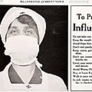 Influenza Prevention, 1918 Pandemic Poster